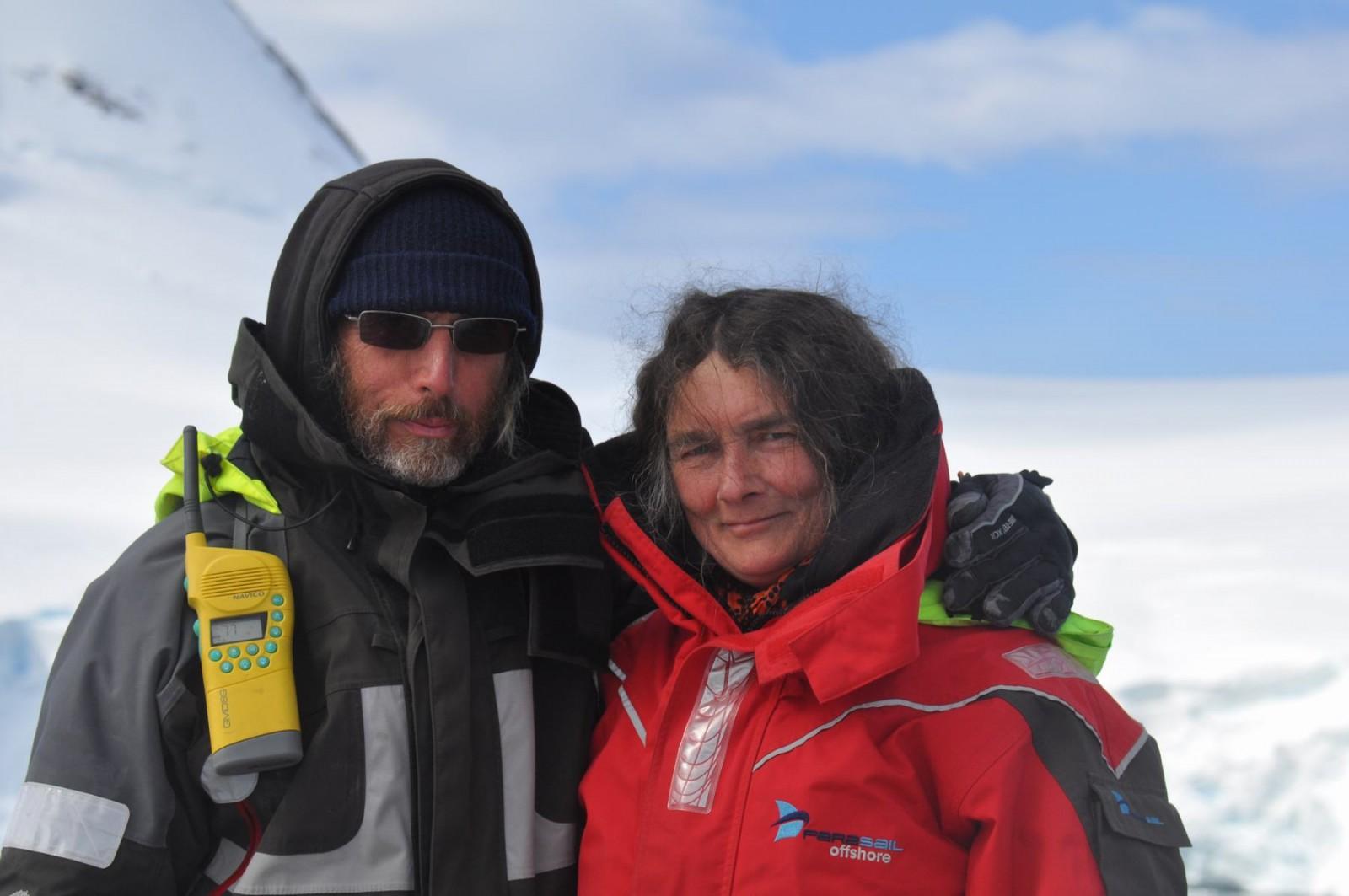Heinz und Greet Antarktika