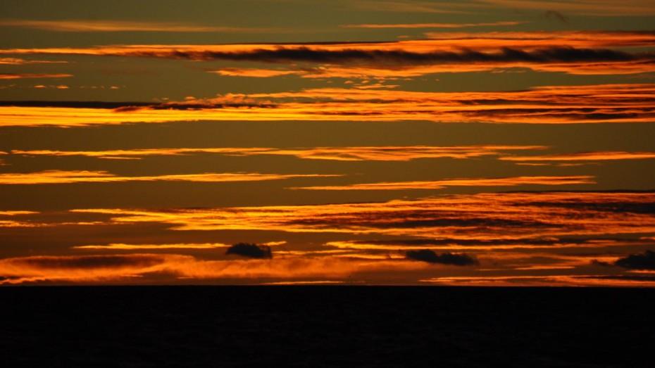 Abendrot Drake-Passage