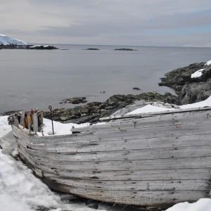 oude walvissloep antarctica