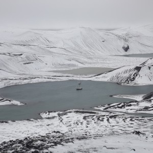 panorama deception Island