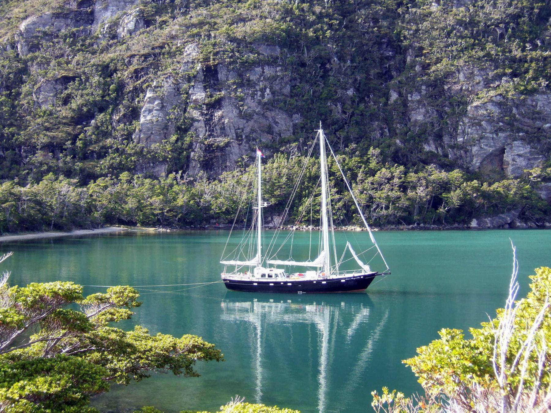 Patagonien Segelexpedition mit der Anne-Margaretha