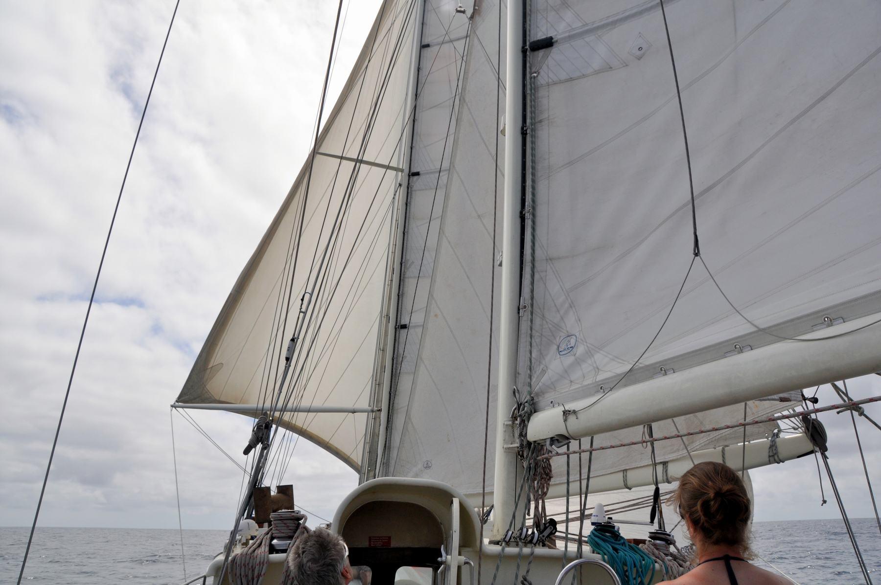 Segeln über den Ozean mit der Anne-Margaretha