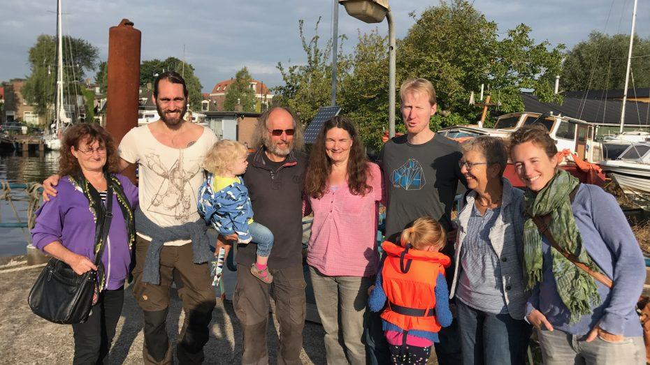start wereldreis Spaarndam 1 sept.17