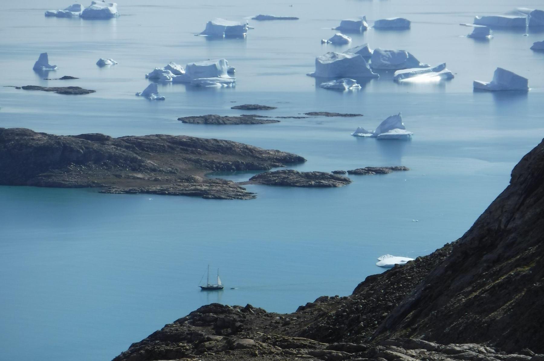 Anne-Margaretha in Grönland