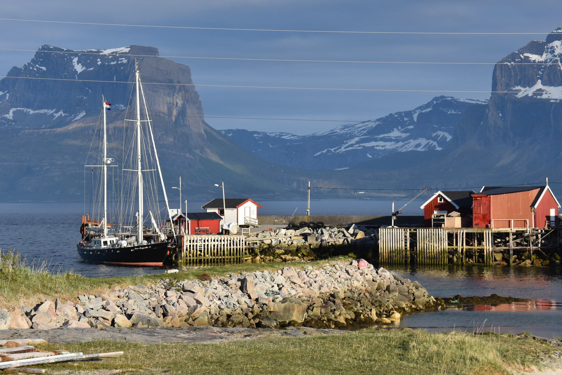 Die norwegische Küste